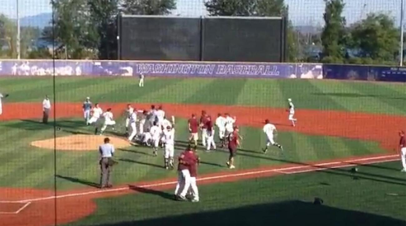 Washington state high school baseball crazy ending