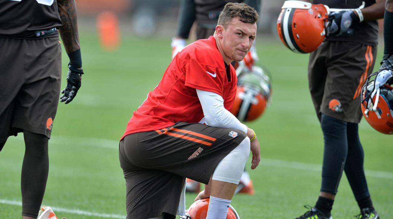 Cleveland Browns Johnny Manziel 'harassed' by fan at Byron Nelson golf classic