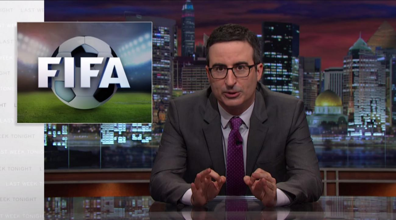 John Oliver's latest takedown FIFA