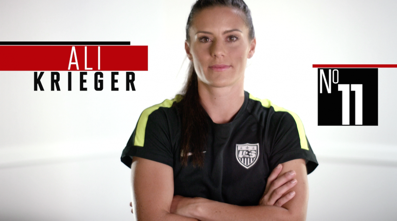 ali krieger, meet the 23, Women's World Cup soccer, fifa, 2015 FIFA Women's World Cup, women's world cup, sepp blatter, abby wambach, Alex Morgan