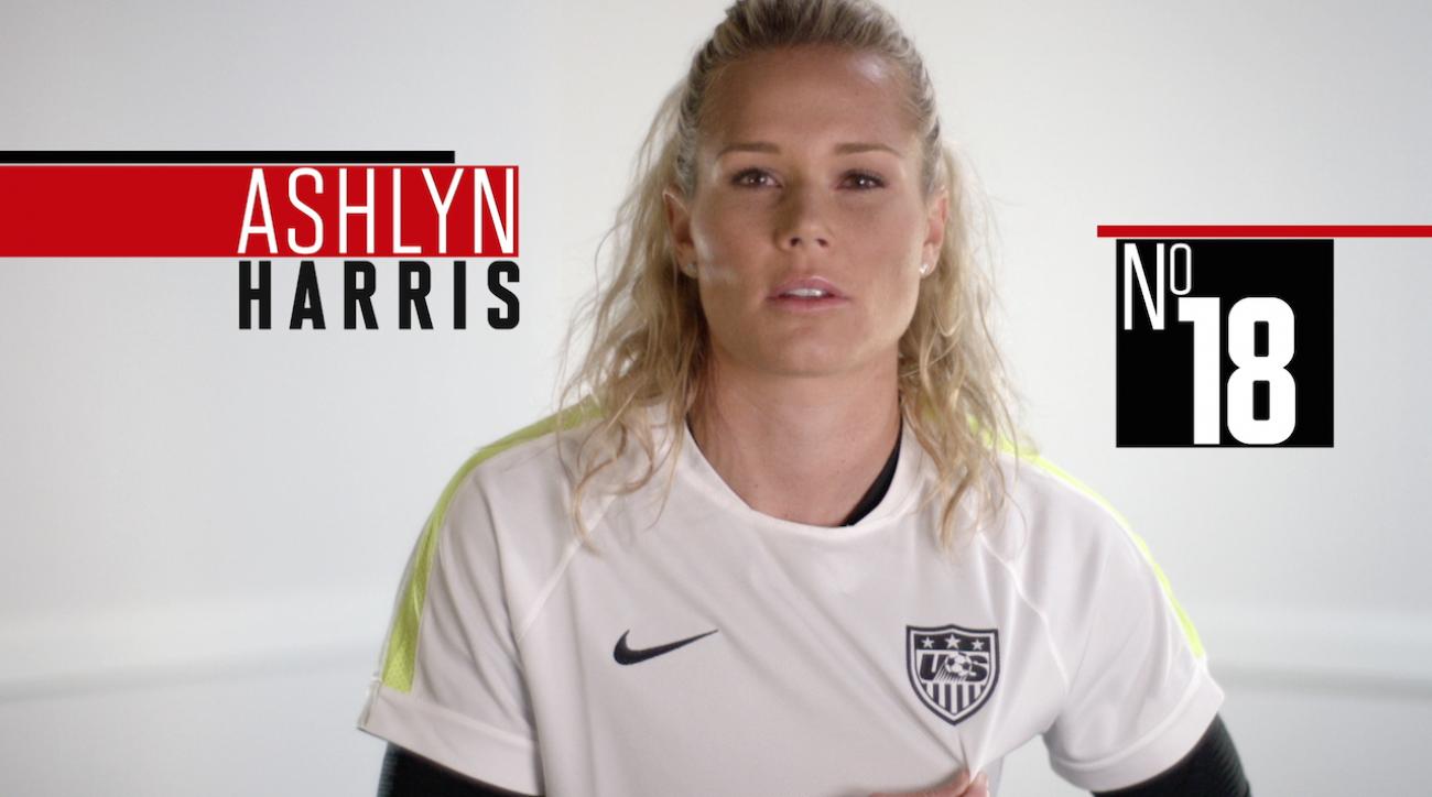 ashlyn harris, soccer, women's world cup, fifa, 2015 FIFA Women's World Cup, sepp blatter, abby wambach, Alex Morgan