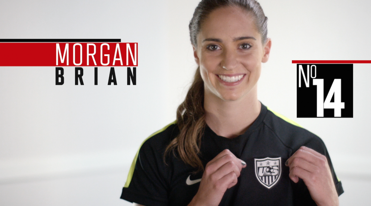 Morgan Brian, soccer, women's world cup, fifa, 2015 FIFA Women's World Cup, women's world cup, sepp blatter, abby wambach, Alex Morgan