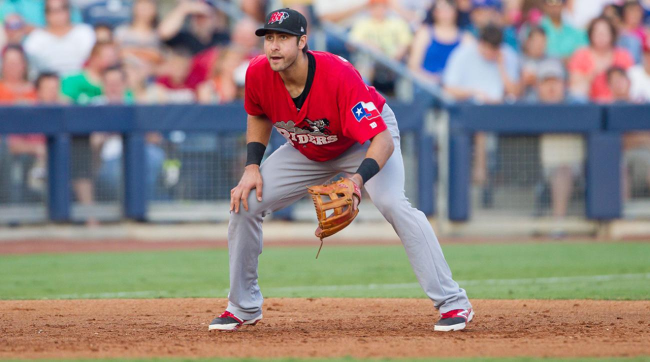 Rangers to call up top prospect 3B Joey Gallo
