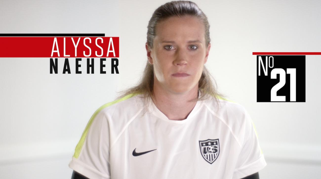 alyssa naeher, soccer, women's world cup, fifa, 2015 FIFA Women's World Cup, sepp blatter, abby wambach, Alex Morgan
