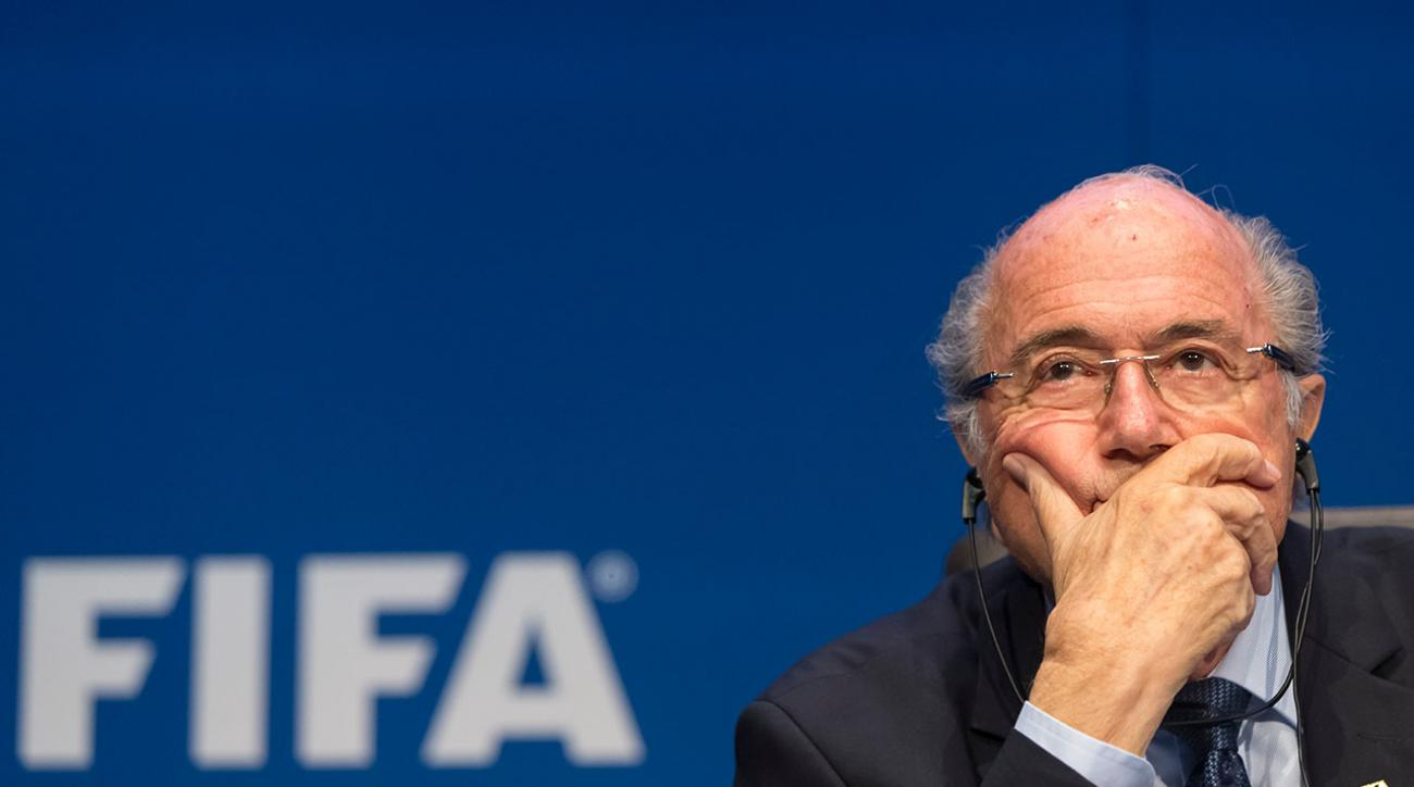 FBI reportedly targeting Sepp Blatter in corruption investigation IMAGE