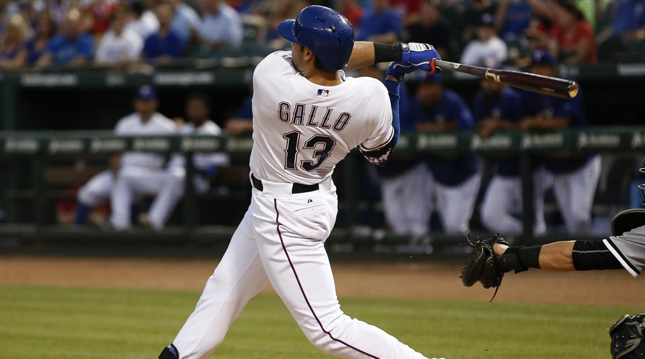 joey gallo texas rangers debut