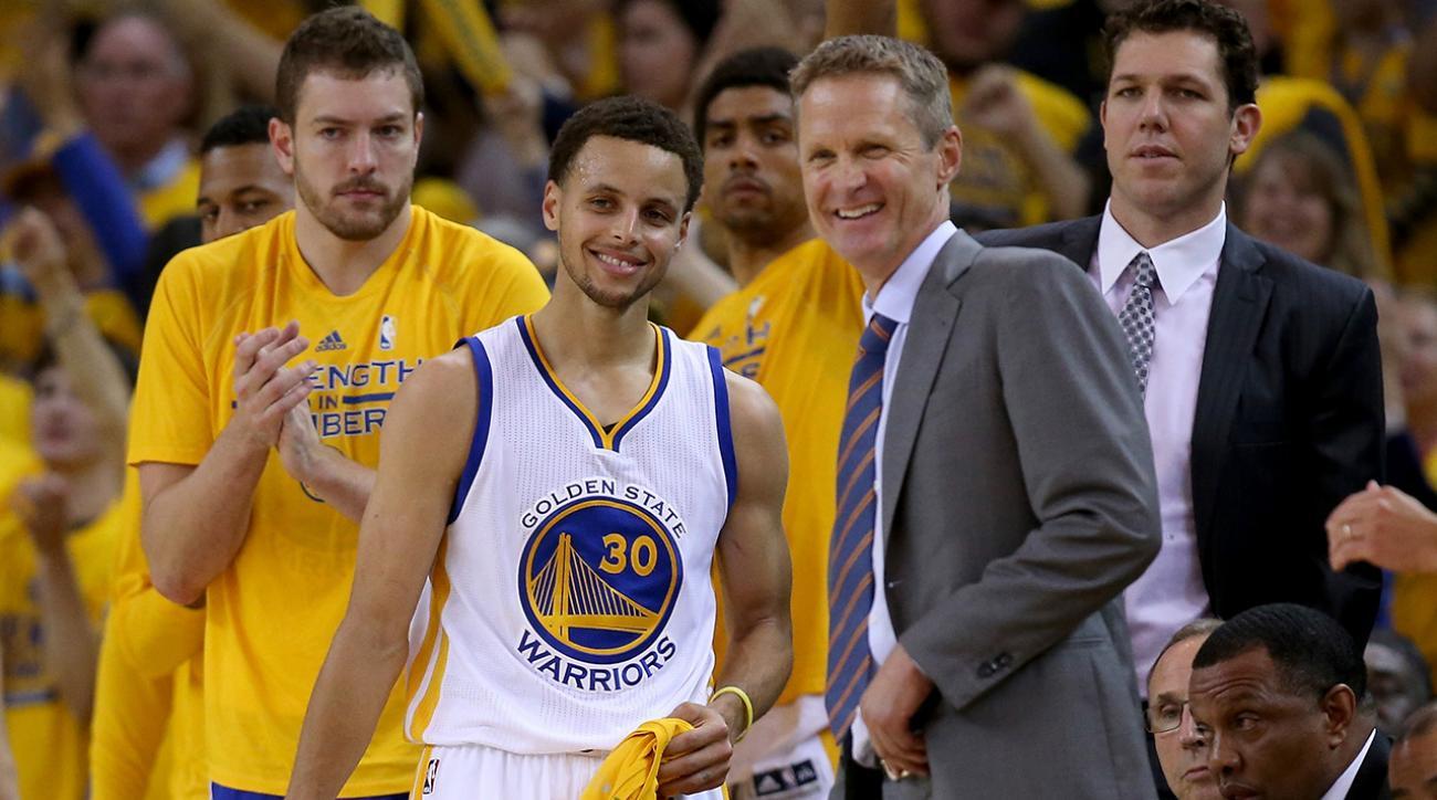 Steve Kerr and David Blatt adjust to first NBA Finals game
