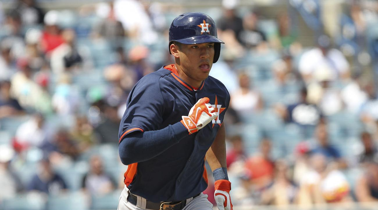 Astros call up 2012 No. 1 pick Carlos Correa