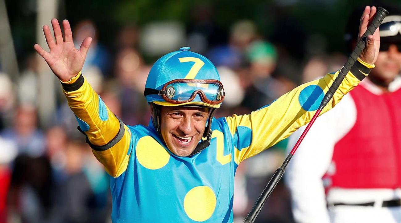 American Pharoah's jockey and trainer to donate Belmont Stakes winnings
