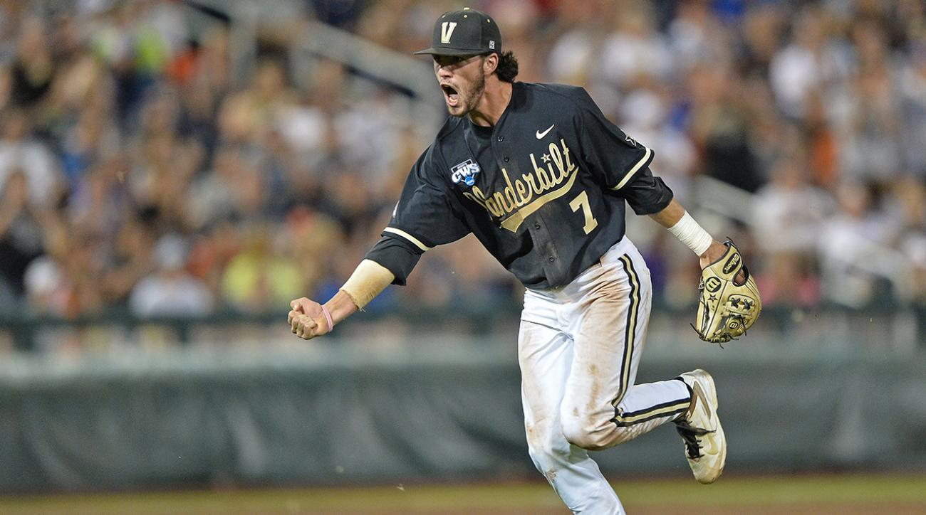 Dansby Swanson selected No. 1 by Diamondbacks in MLB draft