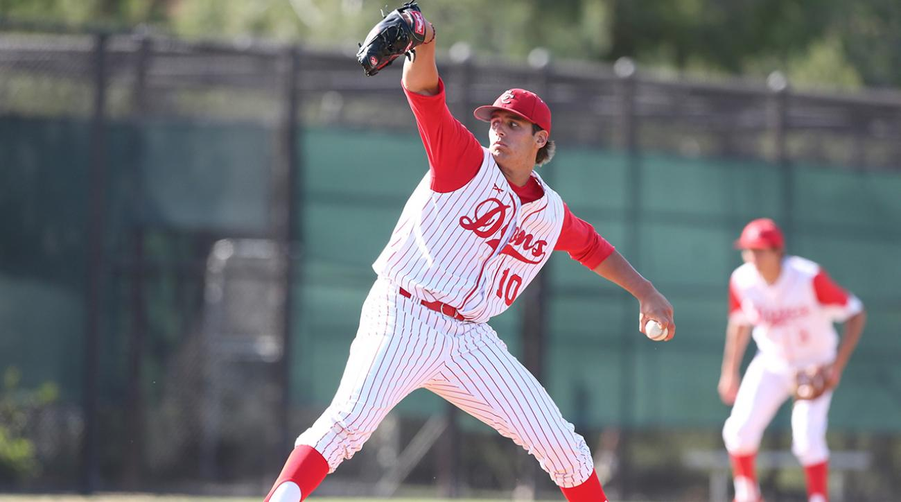 Cleveland Indians select Brady Aiken with No. 17 pick in MLB draft