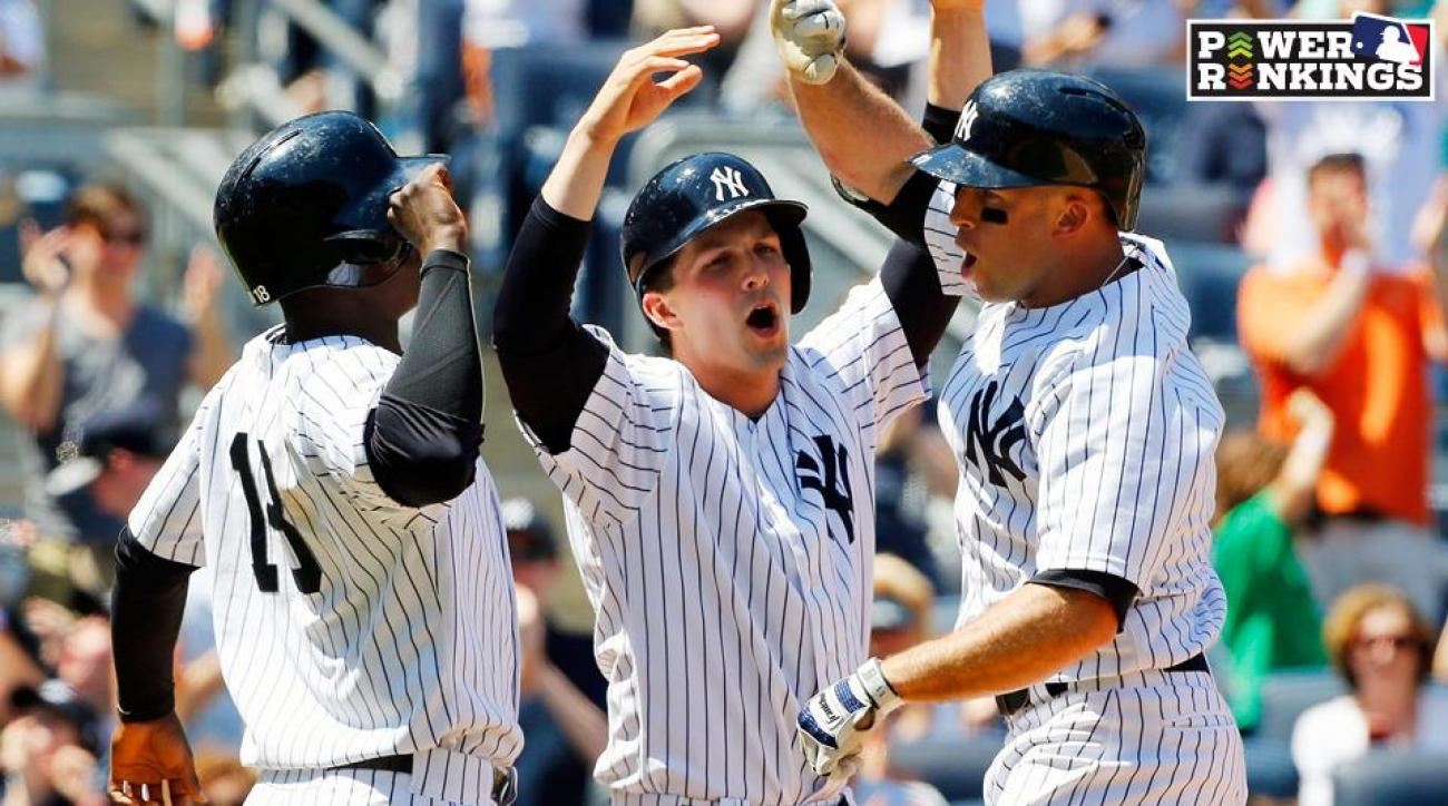 Power Rankings: Red-hot Yankees soar into top five; Cardinals in first