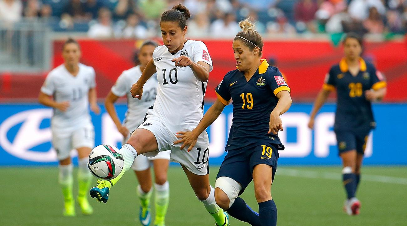 uswnt, United States women's national soccer team, australia, uswnt australia, Australia USWNT, 2015 women's world cup canada