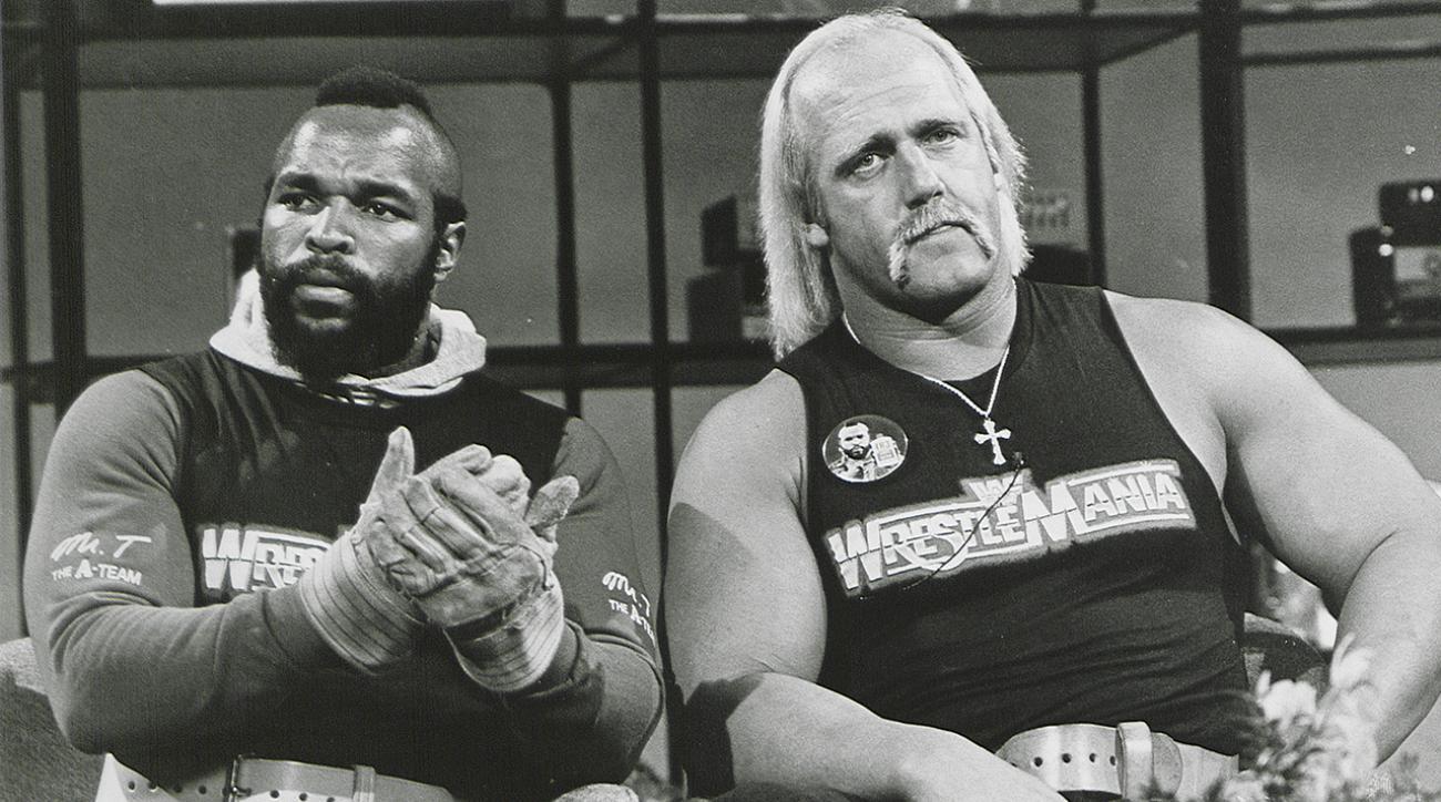 Mr. T, actor, Actor Mr. T, Wrestlemania 32 Mr. T Hulk Hogan, Wrestlmania 32, Hulk Hogan Mr. T Wrestlemania 32, A-Team