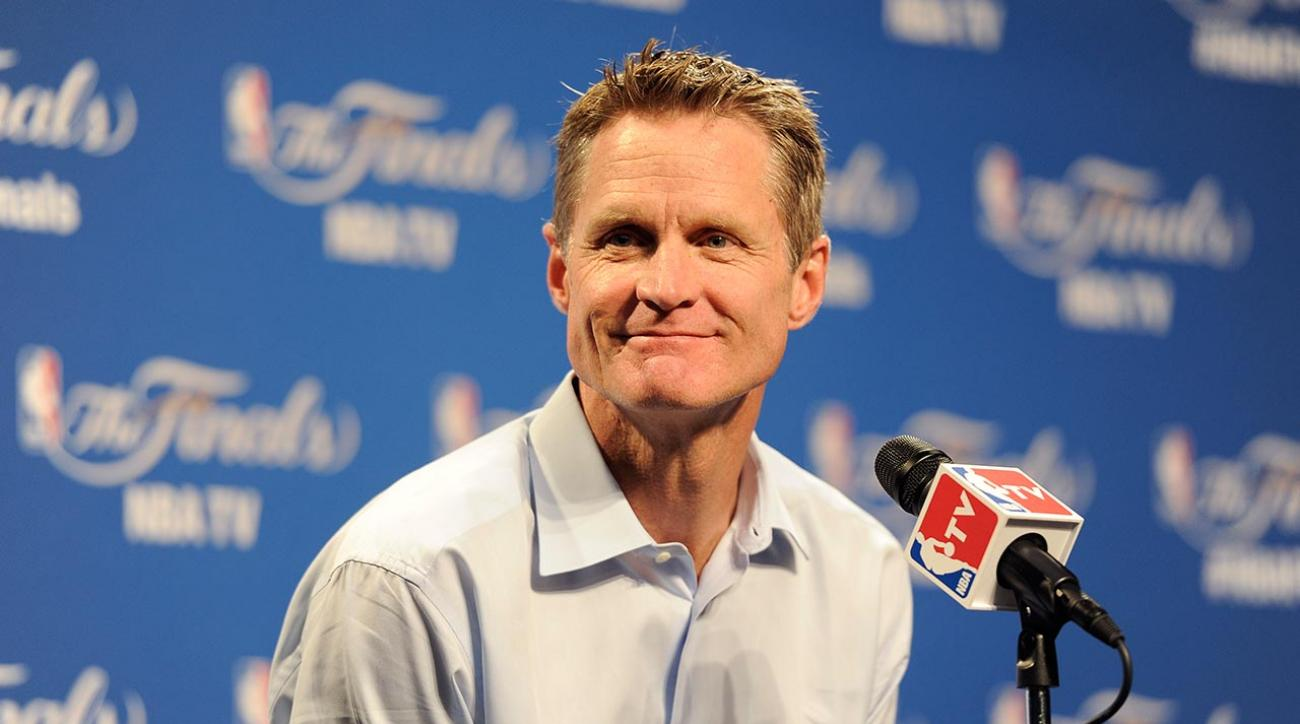 Warriors coach Steve Kerr admits lying about Game 4 starting lineup IMAGE