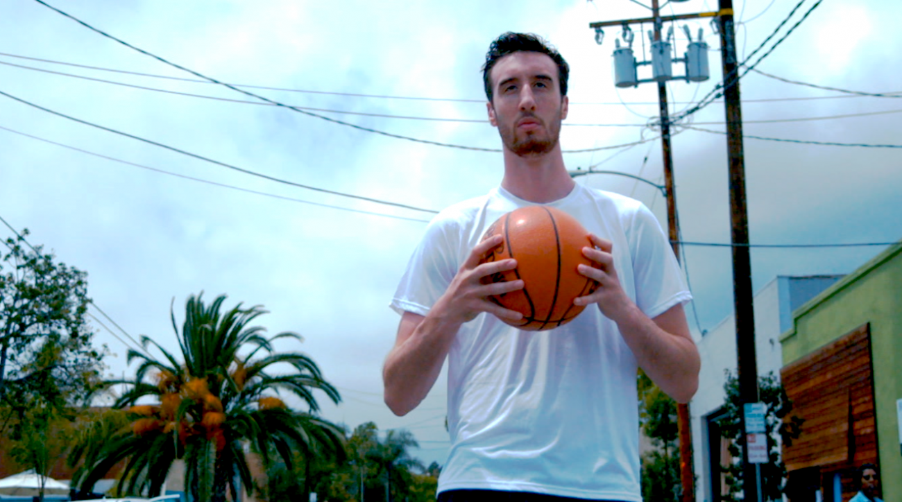 frank kaminsky, nba, nba draft, Sports illustrated, training, wisconsin badgers, p3