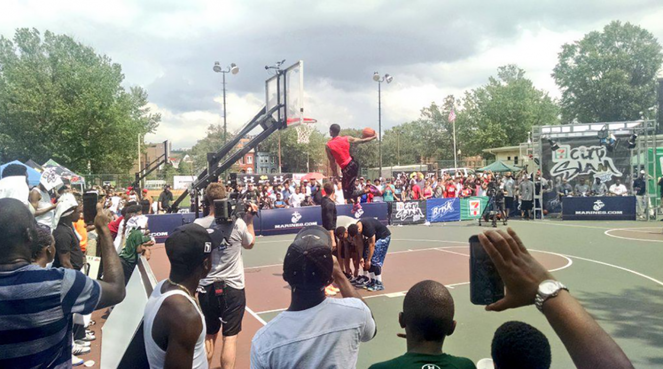 A Whole New Approach: D.C. City Slam dunk contest rivals NBA
