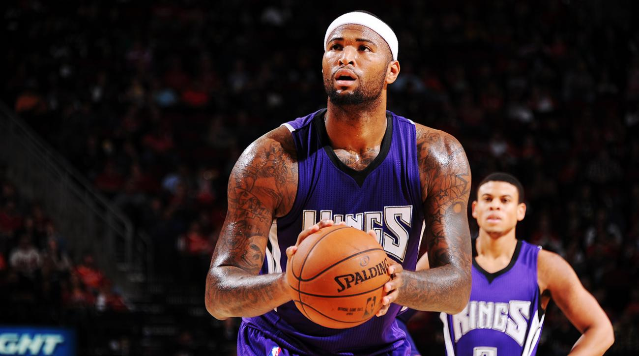 Vlade Divac on Demarcus Cousins trade rumors: 'Not happening' IMAGE