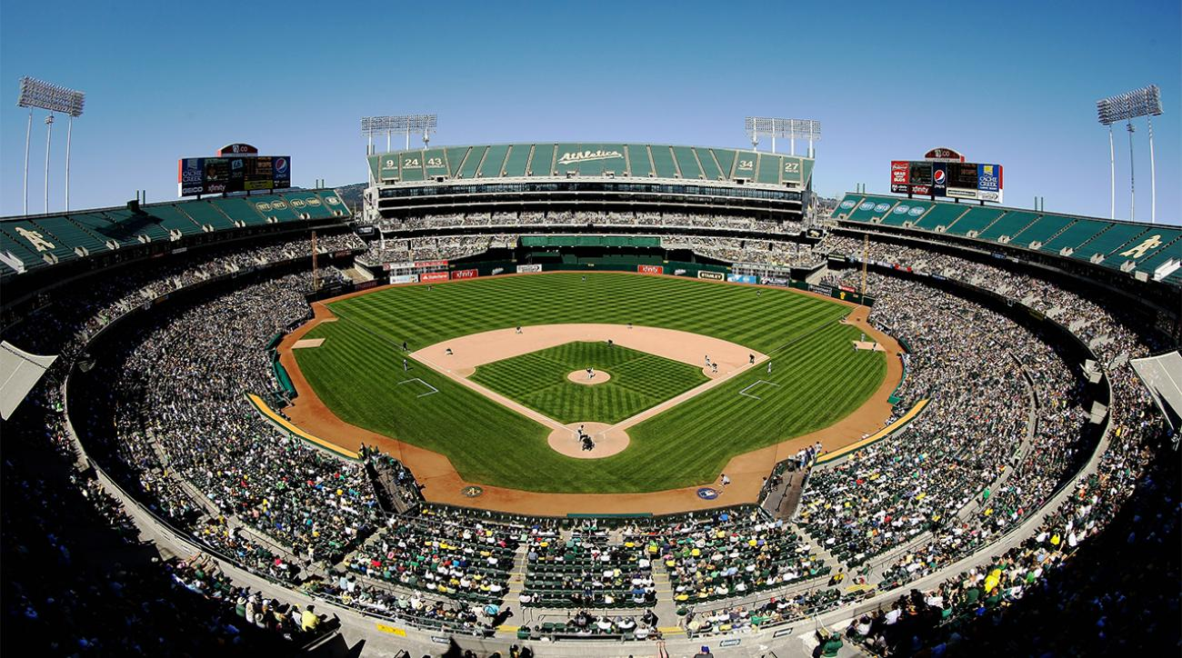 Oakland A's owner doesn't want to share new stadium Raiders  IMAGE