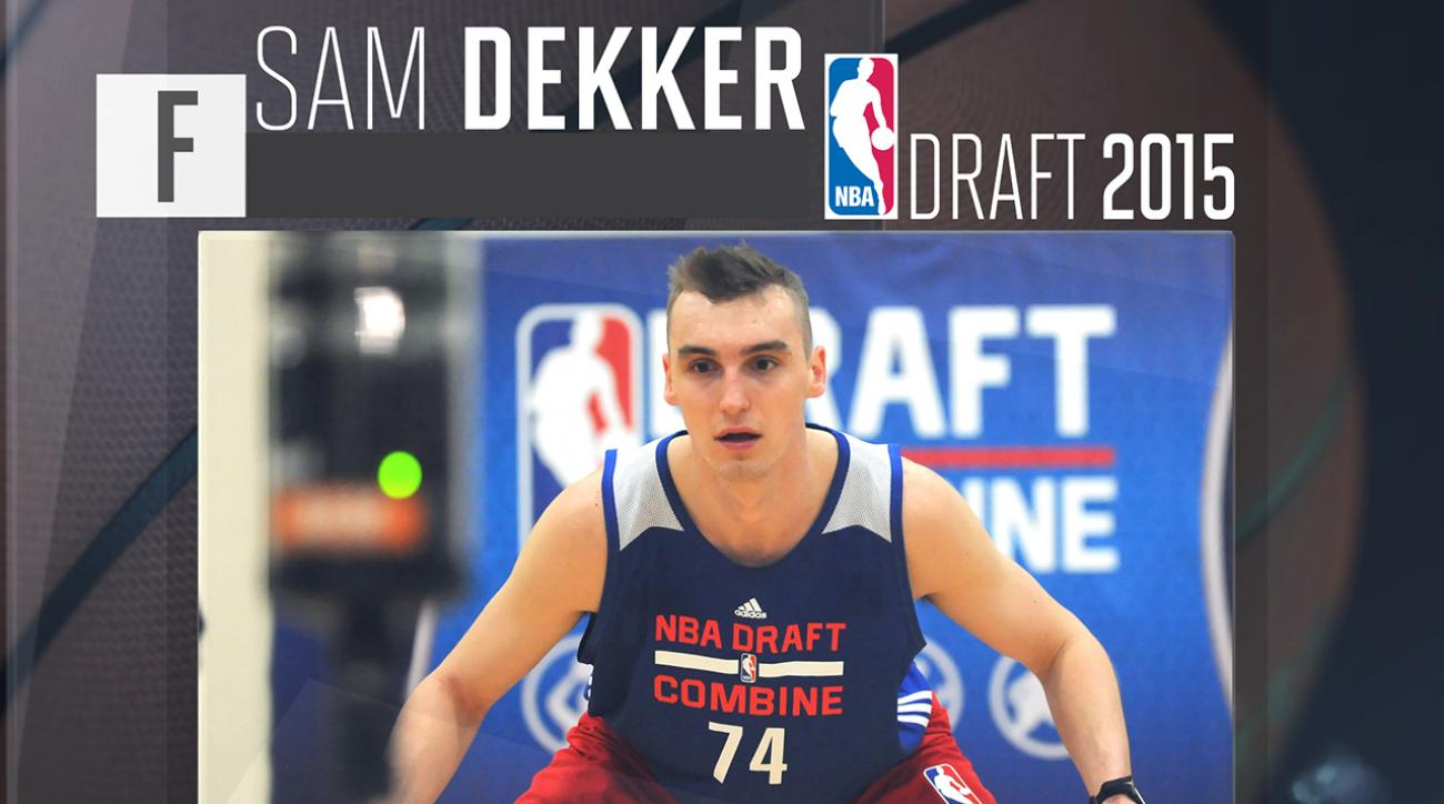 2015 NBA draft: Sam Dekker profile IMG