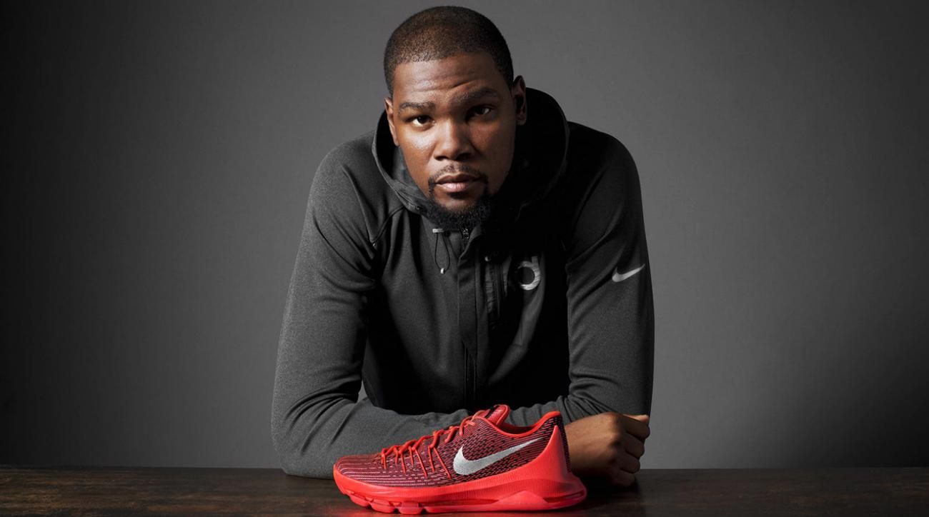 Kevin Durant unveils Nike KD8