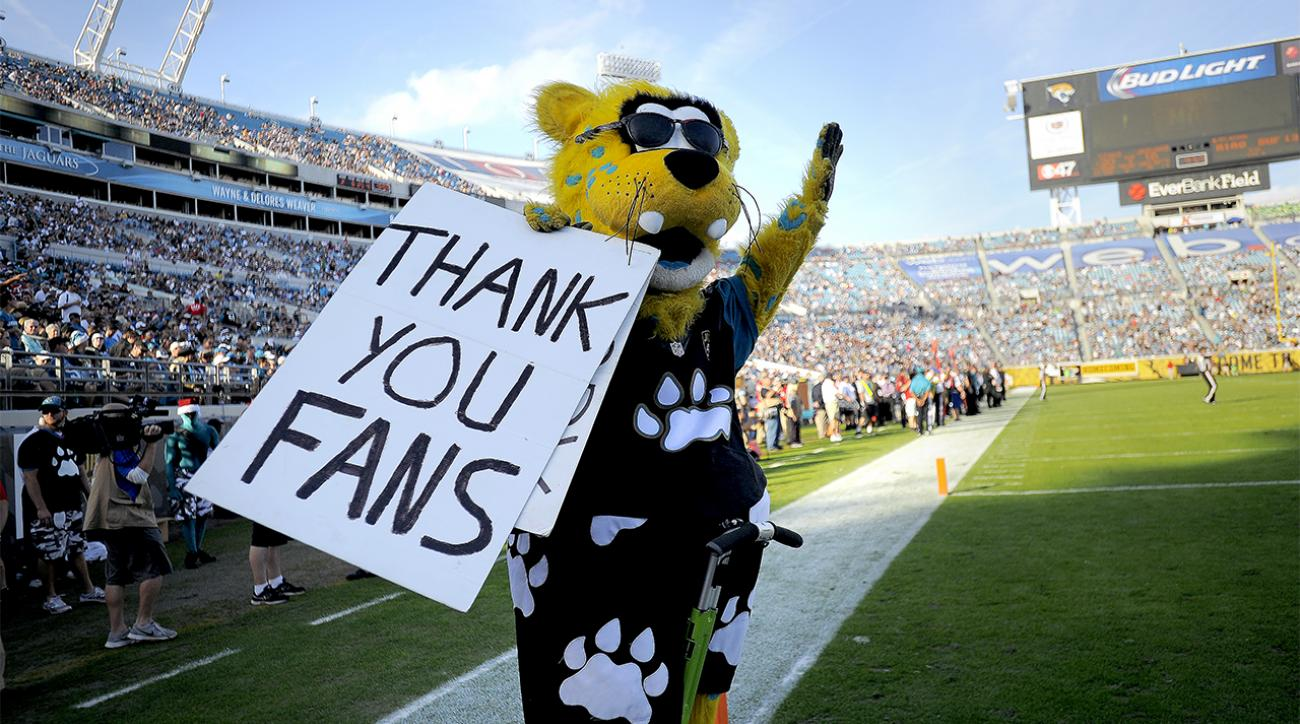Man behind Jaguars mascot Jaxson de Ville retiring after 19 years