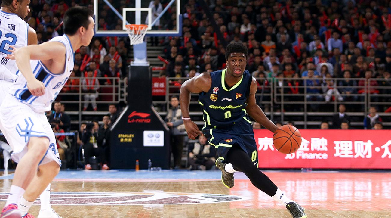 nba draft 2015, emmanuel mudiay, Guangdong Southern Tigers, john wall, washington wizards john wall, Emmanuel Mudiay Guangdong Southern Tigers, Emmanuel Muiday NBA 2015 Draft