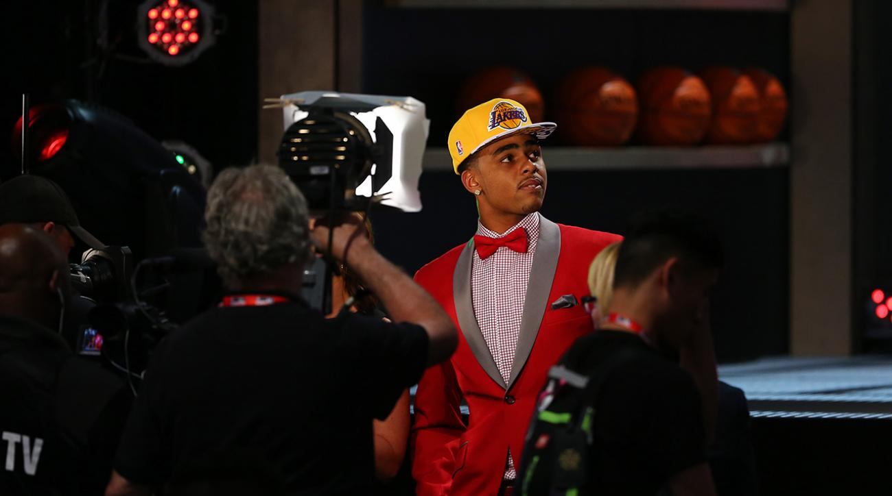 A look at the 2015 NBA draft fashion picks  IMAGE