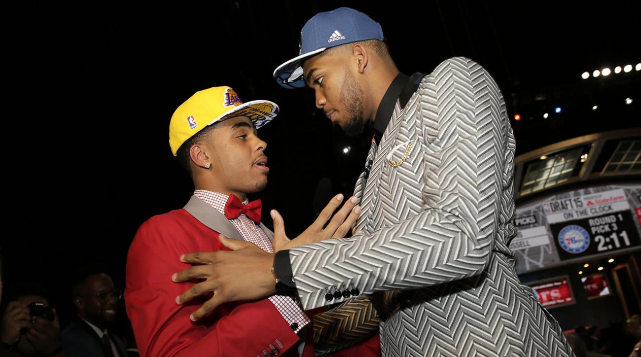 Lakers surprise, change outlook of NBA draft's first round IMG