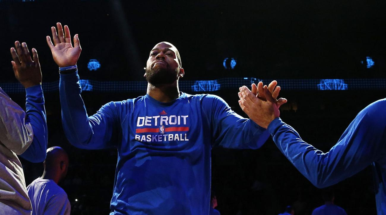 Free-agent Greg Monroe says he will meet with five teams this week IMAGE
