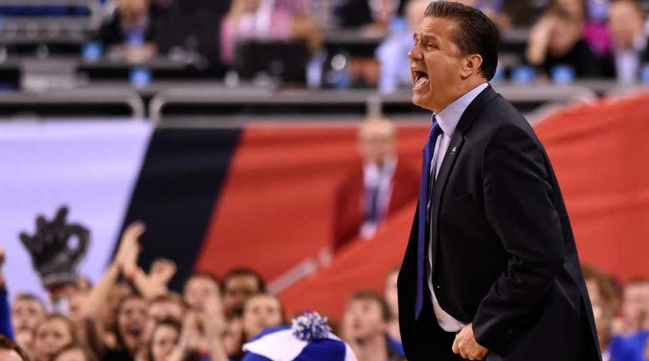 John Calipari denies report about discussing jobs with Kings