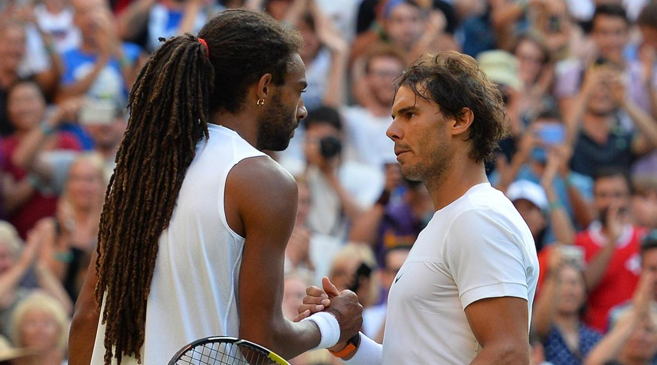 Rafael-Nadal-Dustin-Brown-Wimbledon
