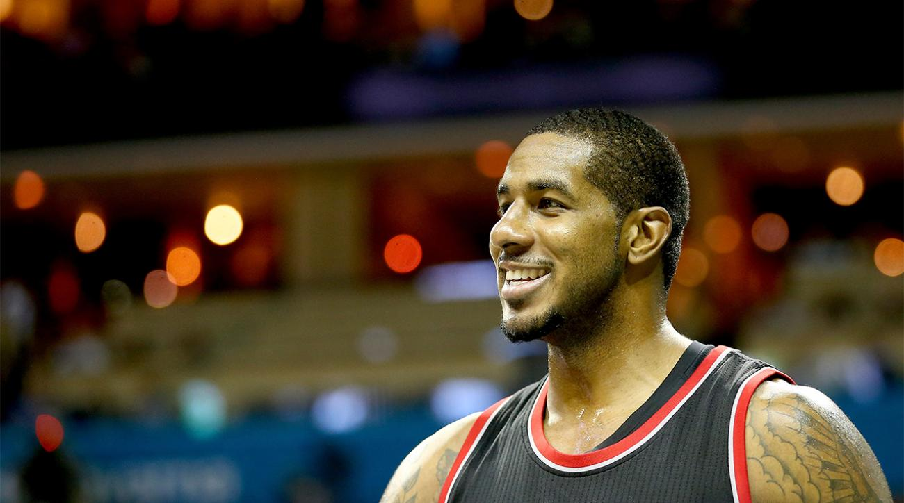 LaMarcus Aldridge thanks Portland