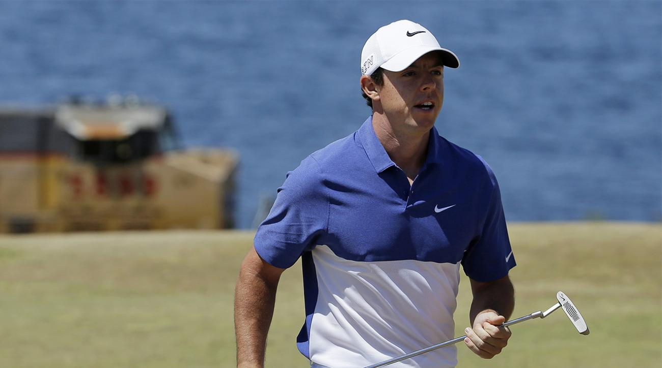 Rory McIlroy ruptures ligament in left ankle while playing soccer IMAGE