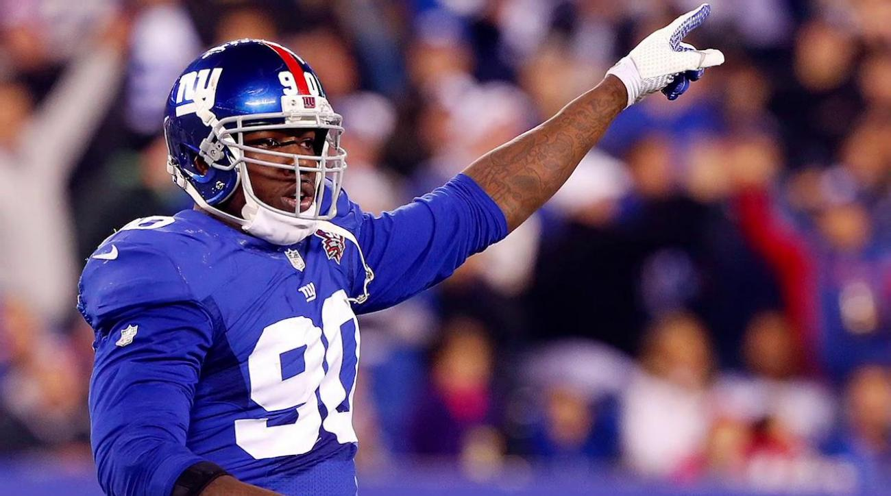 Giants withdraw $60 million offer to Jason Pierre-Paul following fireworks incident IMAGE