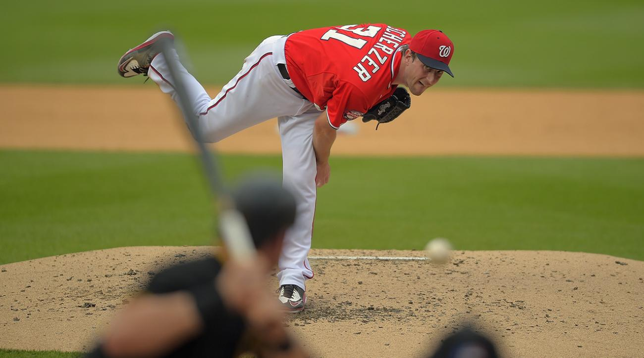 Nationals' Max Scherzer out for All-Star Game, pitching Sunday against Orioles  IMAGE