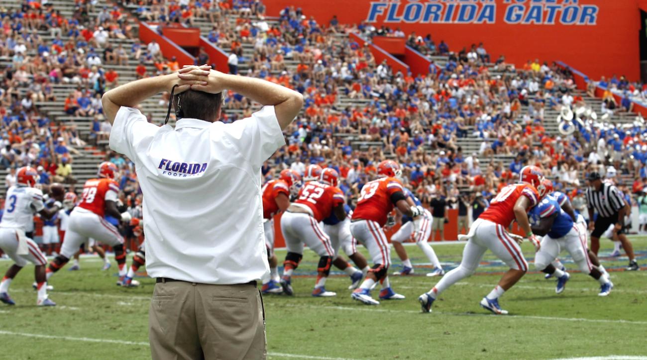 College football, Florida Gators, Jim McElwain, SEC Media Days, sports illustrated