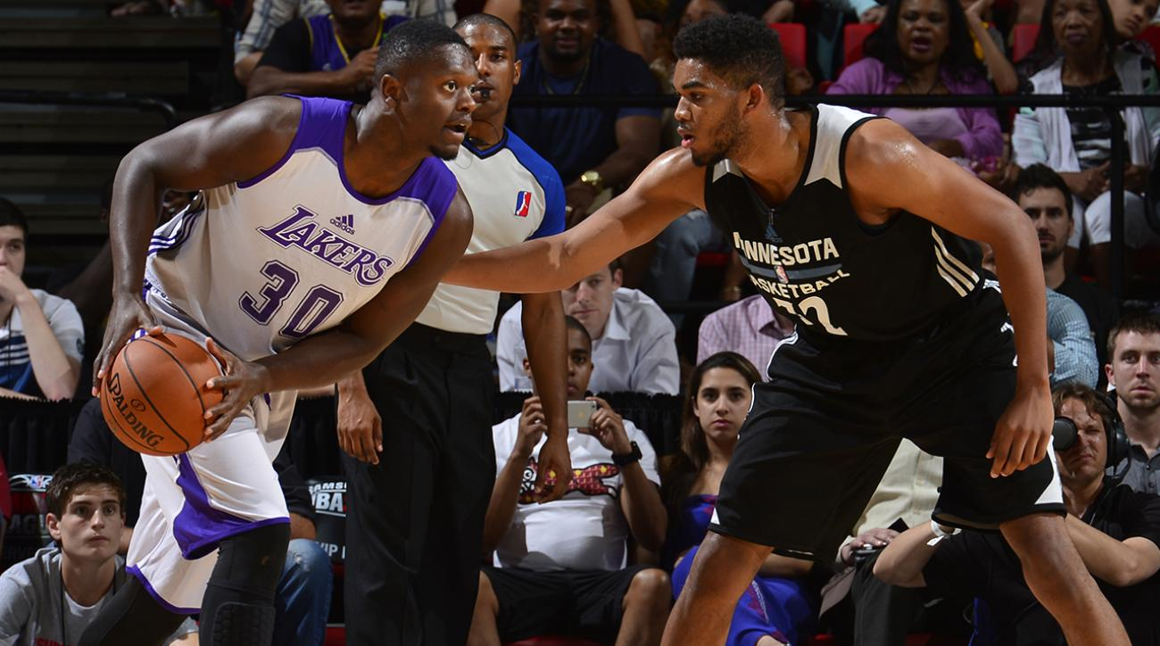 Julius Randle Los Angeles Lakers NBA Summer League IMG