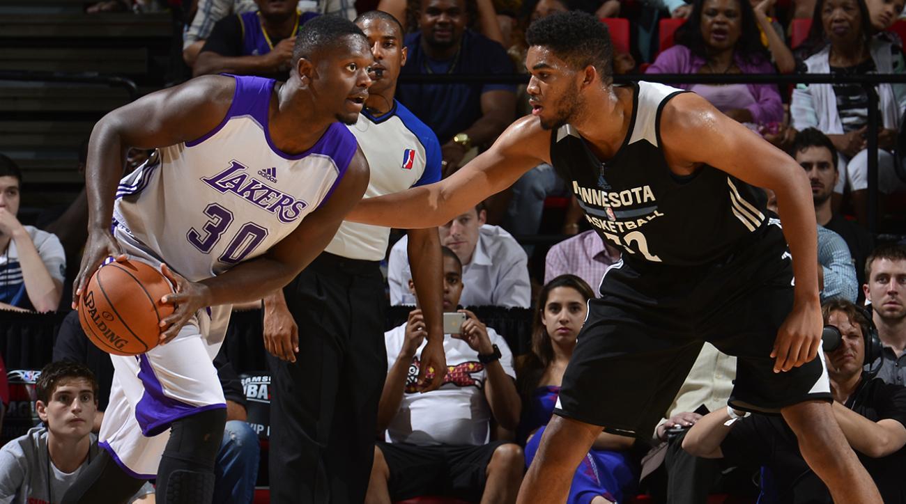 Julius Randle Los Angeles Lakers NBA Summer League IMG