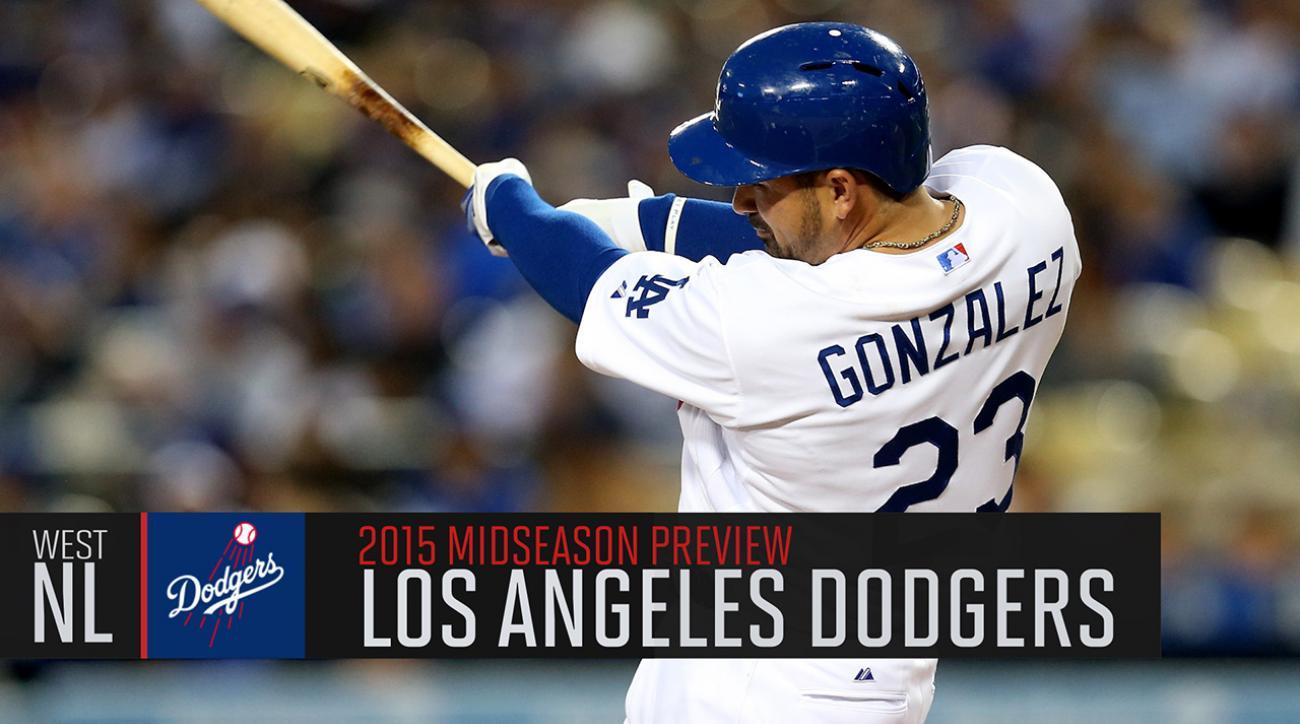 Los Angeles Dodgers 2015 midseason preview
