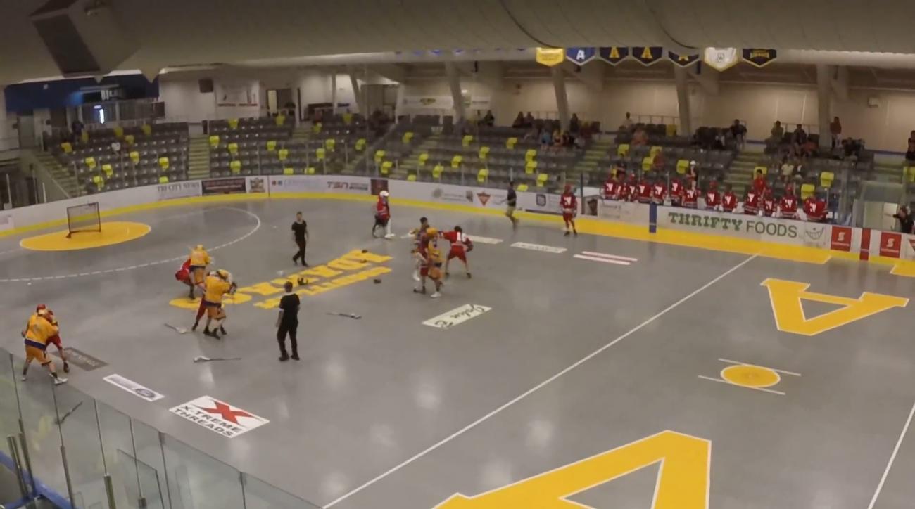 : Huge brawl breaks out during junior lacrosse game IMAGE