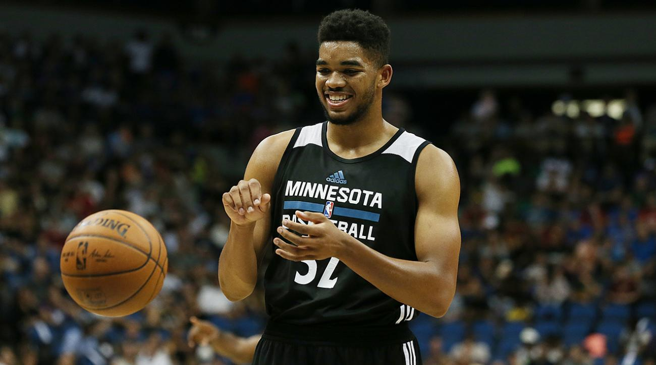 Karl-Anthony Towns ready for Kevin Garnett college IMG