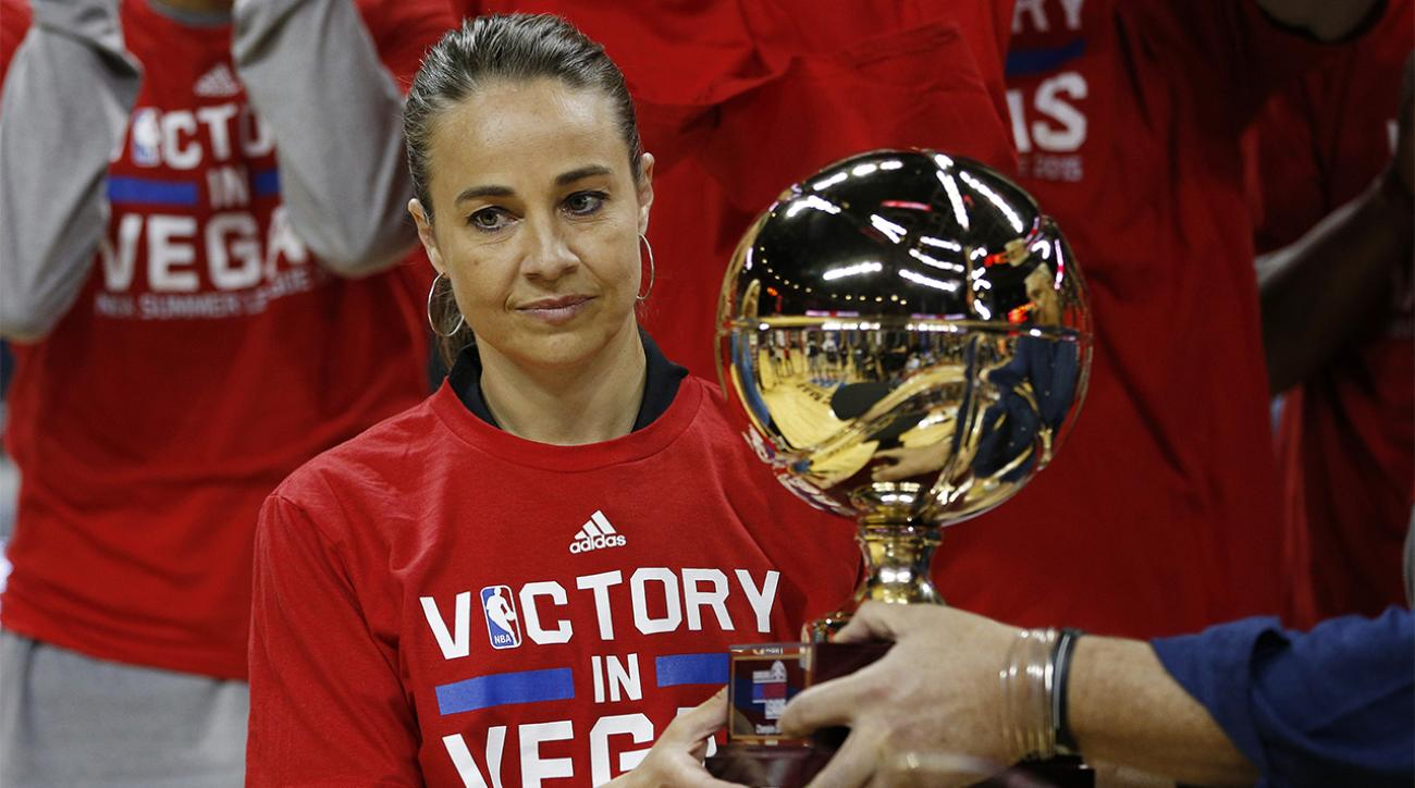 Becky Hammon coaches Spurs to Las Vegas Summer League title over Suns