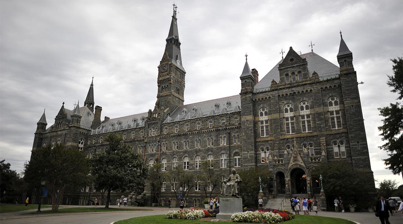 Georgetown investigating hazing, racial bias on track and field teams IMAGE