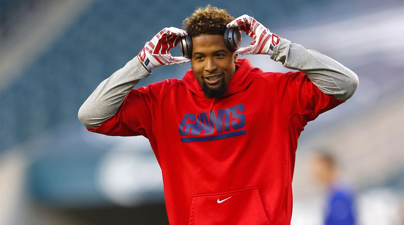 Giants WR Odell Beckham Jr Hamstring Better