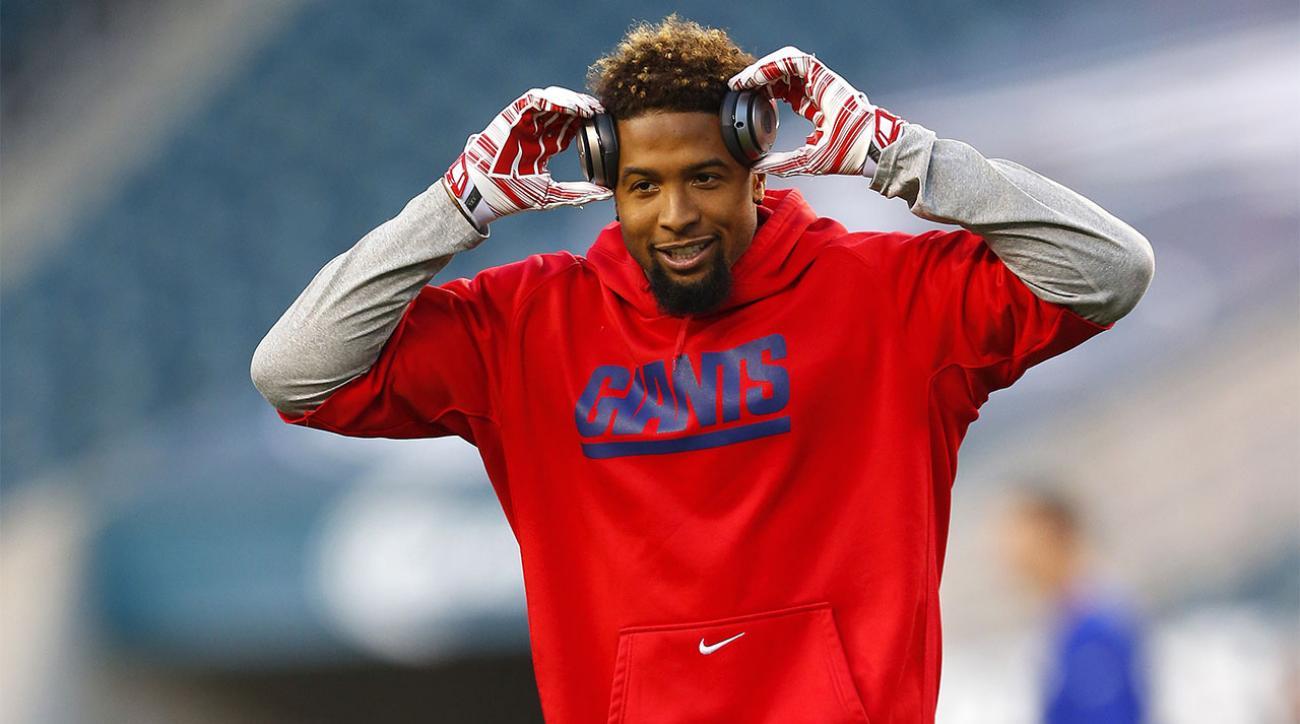 Giants WR Odell Beckham Jr Hamstring Better