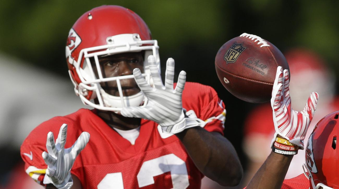 De'Anthony Thomas looks to bolster Chiefs receiving corps