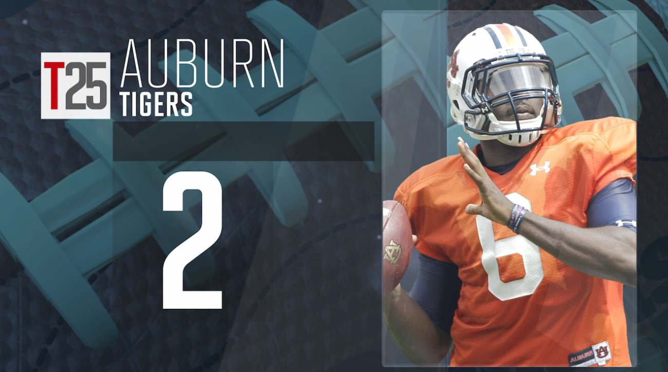 auburn tigers, College football, Jeremy Johnson, preseason top 25, sports illustrated, college football top 25, cfb