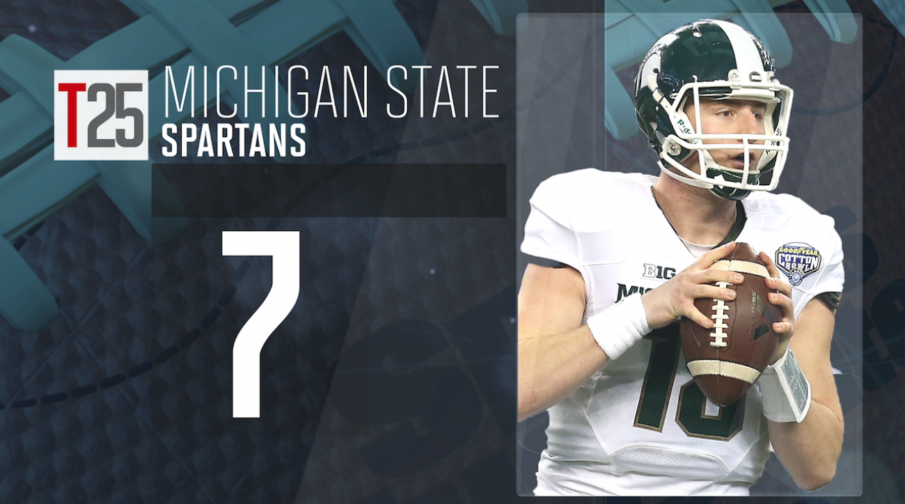 College football, michigan state spartans, preseason top 25, Sports Illustrated, college football top 25, sparty, connor cook