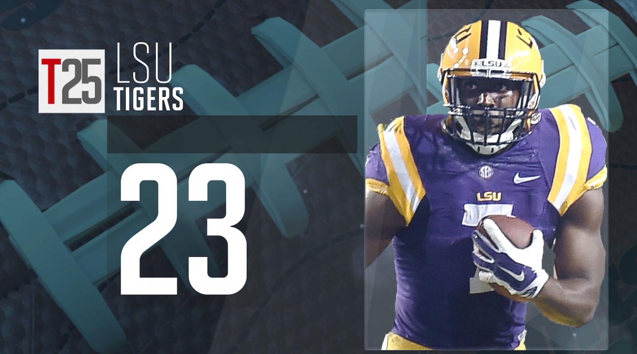 2015 college football preseason Top 25: LSU Tigers, No. 23 IMG